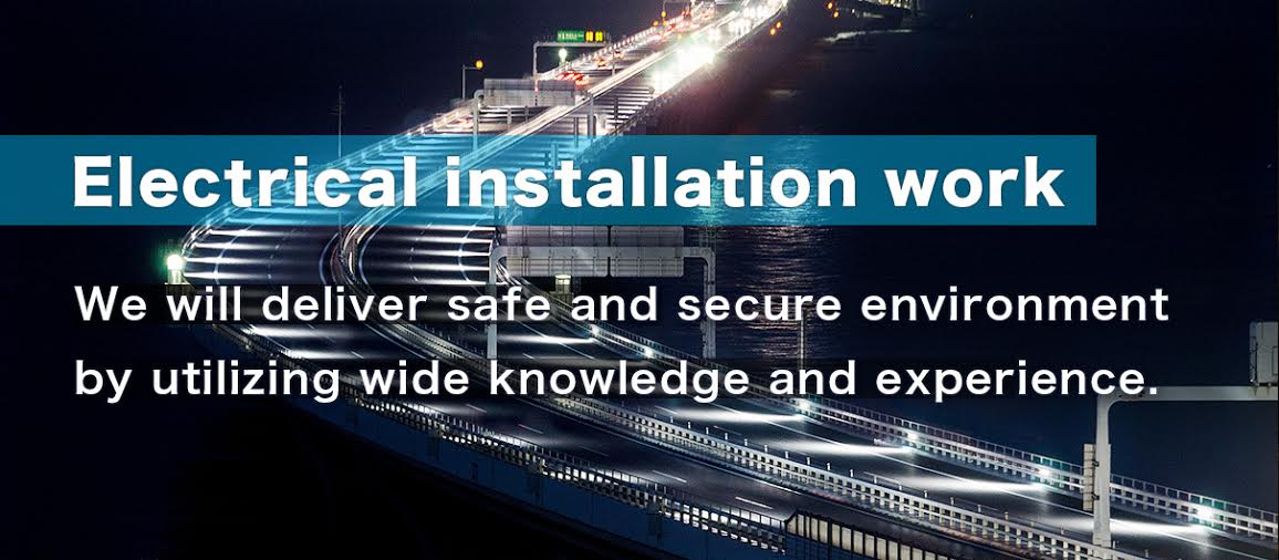 Electrical installation work We will deliver safe and secure environment ny utilizing wide knowledge and experience.